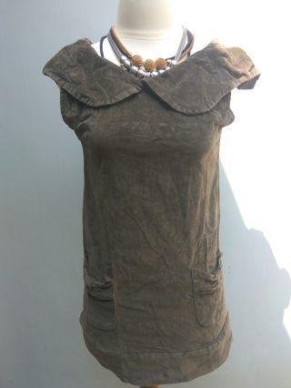 Dress corduray suede