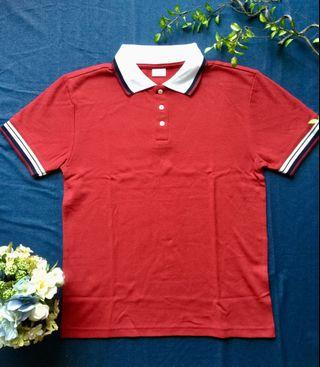 🚚 Red Polo Tee