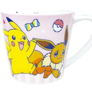 Pokemon Center Mug Cup 80s POP Pikachu / Pikachu and Eevee (Pre-Order)