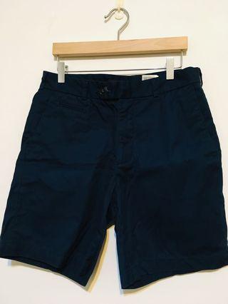 #轉轉背肩包 hm 寶藍短褲 優質棉系列 西裝 短褲