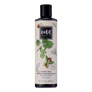 PATCHOULI & NUTMEG SHOWER GEL 90% NATURAL/ORGANIC - BLISSFUL SOUL SKIN SOOTHING SHOWER GEL