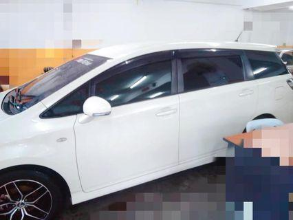 Toyota wish full spec