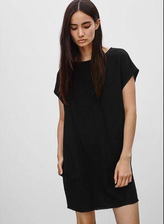 Wilfred Free Nori Faux-Suede Dress