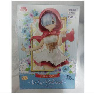 全新日版景品 FuRyu Re:從零開始的異世界生活 -SSS Figure- 雷姆小紅帽裝 Red Hood