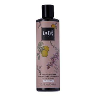 LEMON & ROSEWOOD SHOWER GEL 91% NATURAL/ORGANIC - CHILDHOOD REMEMBRANCE SKIN SOOTHING SHOWER GEL