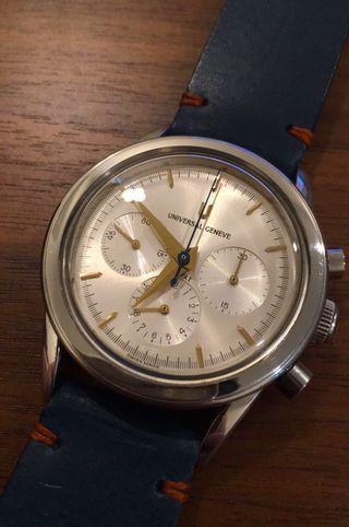 🌎 宇宙錶 Universal Geneva Compax chrono🌎 non Rolex Tudor Panerai