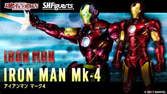 SHF ironman Mark iv 日版 全新
