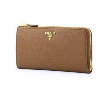 Prada zip round wallet 🔥
