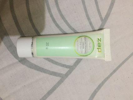 Zap Brightening Cream