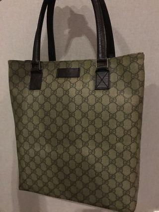 Gucci Tote Bag with local receipt