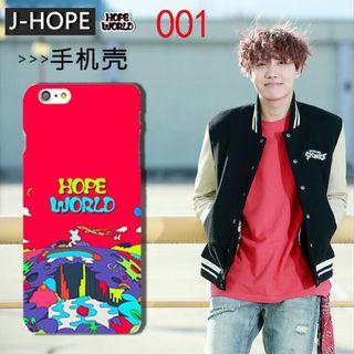 🚚 PO BTS JHope Hope World Phone Case iPhone