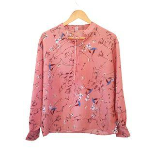 🆕 Pink Floral Blouse