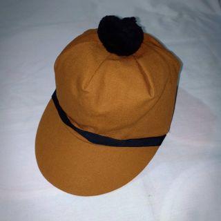 Vintage Beaver Brand Work Duck Cap. Made in USA