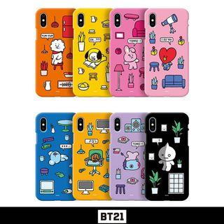 🚚 PO iPhone  BT21 Authentic Color Soft Jelly Summer Pattern