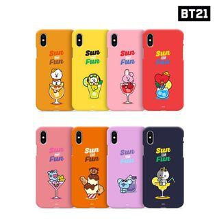 PO BT21 BTS Color Soft Jelly Summer Pattern