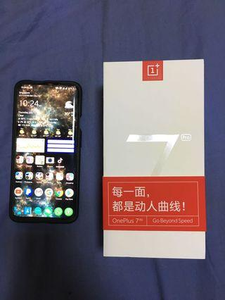 OnePlus 7 Pro (12GB/256GB) Nebula Blue (Brand New Condition)