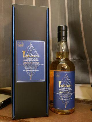 比門市平近$1000 秩父 藍葉 ichiro's Malt & Grain - World Blended Whisky Limited Edition Chichibu  With box