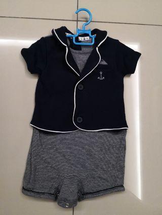 Mothercare sailor suit