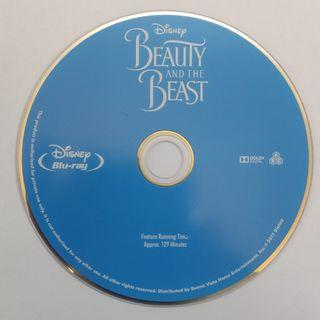 Beauty and the Beast Blu-ray movie 藍光電影