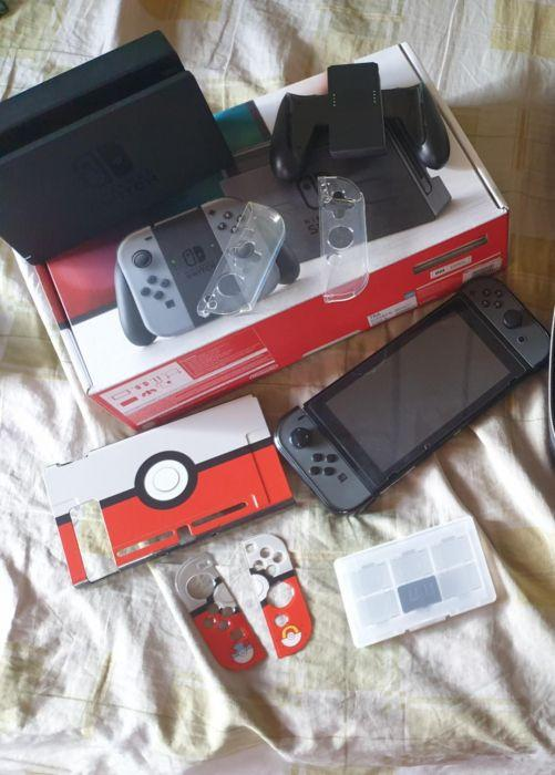 Nintendo Switch complete package PATCHED on Carousell