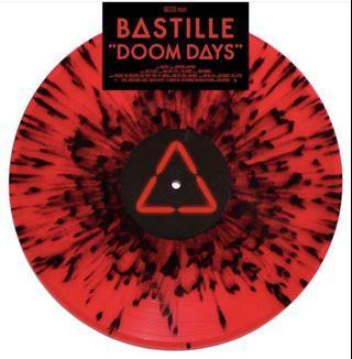 Bastille – Doom Days (Retail Exclusive Red/Black Splatter Vinyl LP)
