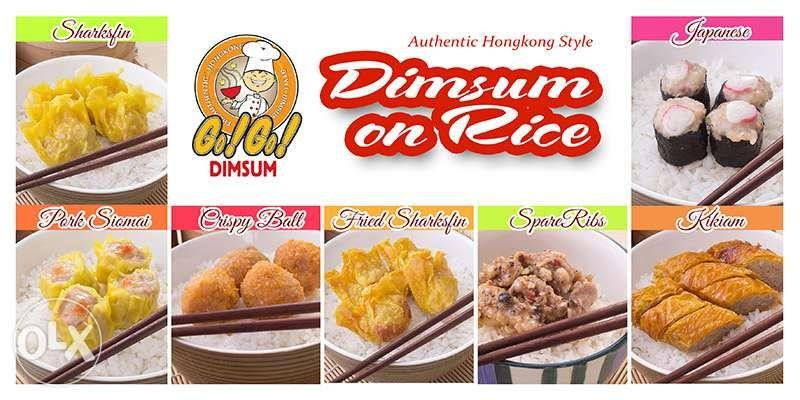 authentic dimsum  siomai franchise or wholesale or siomai foodcart