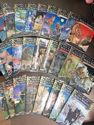 ($9/本)共26本 Magic Tree House - Merlin Missions