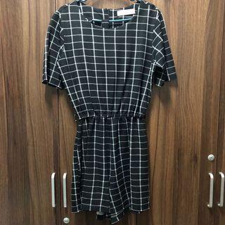 Preloved Checkered Romper