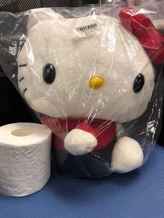 全新TOREBA Hello kitty 毛公仔
