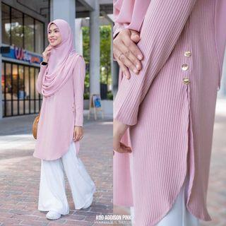 Addison tunic (pink)