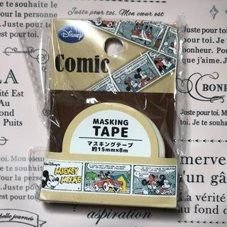 Mickey Mouse Comic Strip Washi Tape