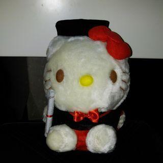 Hello Kitty 大頭畢業公仔