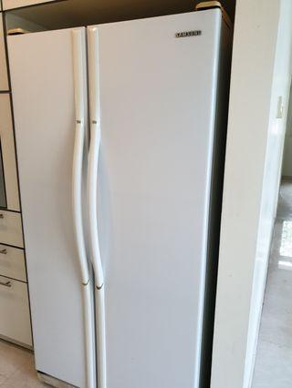 Samsung side by side 2 door refrigerator