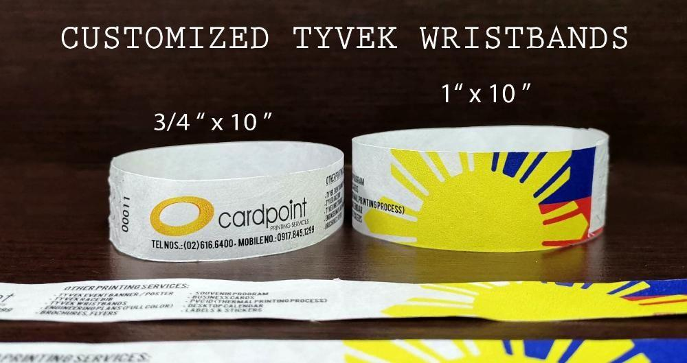 It's just an image of Satisfactory Printable Tyvek Wristbands