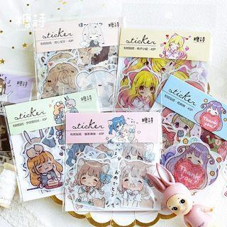 [ PO ] Anime stickers packs