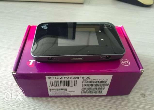 Netgear Aircard AC810S 4G LTE Cat11 Pocket WIFI 600Mbps Unlocked on