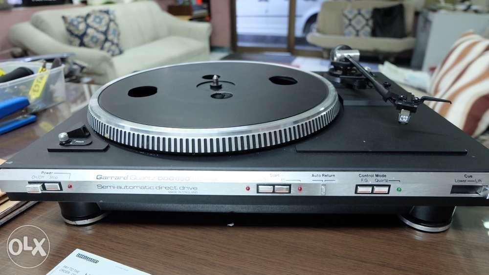 garrard turntable DDQ650 direct drive turntable phono player