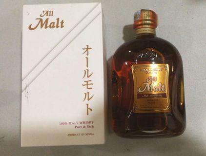 All Malt Nikka Whisky W Box