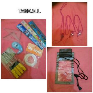 Waterproof Gadget Case with Assorted things Bundled