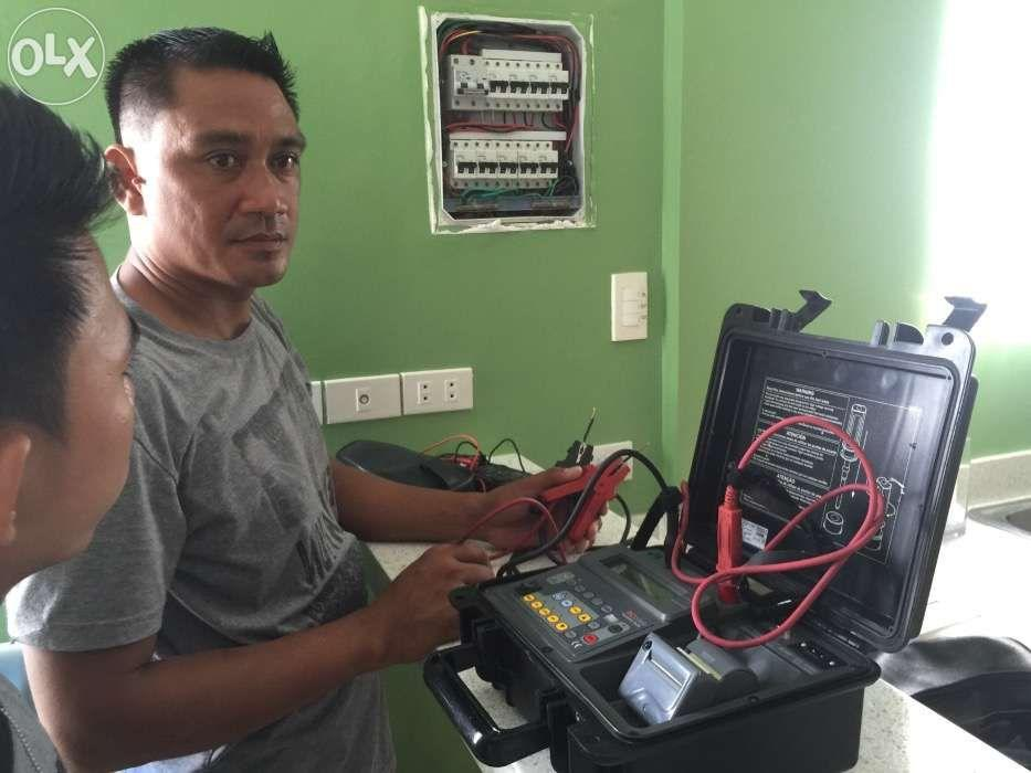 megger testing Insulation test resistance meger full load test profesional electrical