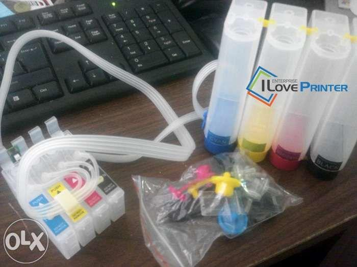 CISS installation and CISS kits for Canon Epson Brother HP printer