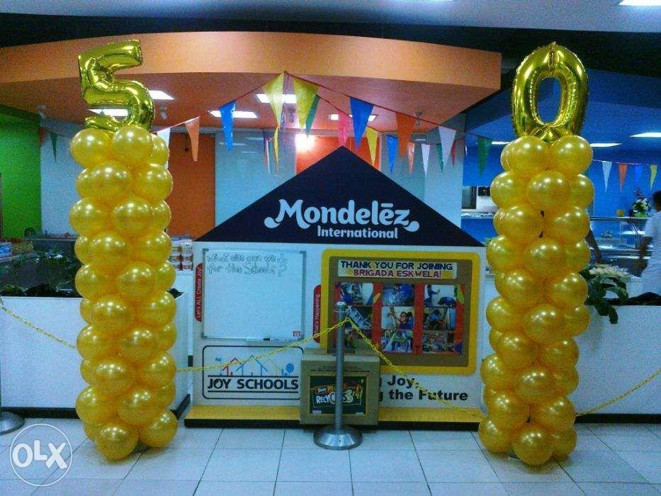 Balloon Decoration for Baptism Birthday Debut Corporate Events
