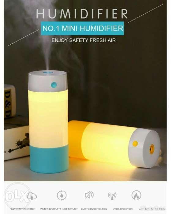 Loskii LH630 USB Antidry Air Humidifier Mute Night Light