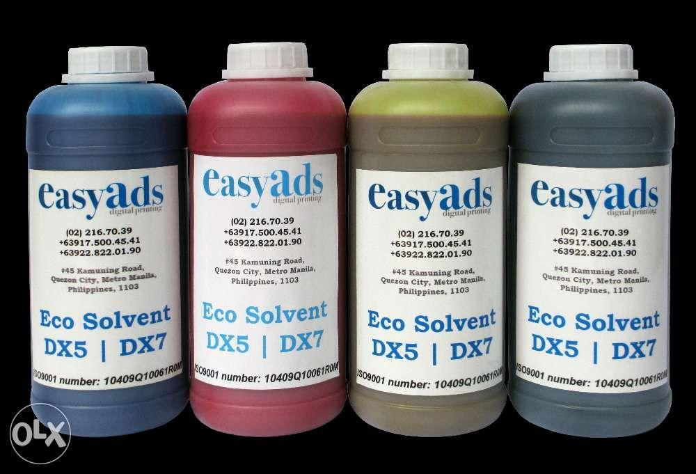 Ecosolvent Eco solvent Ink Epson DX5 DX7 DX11 XP600 Inks We Delivery Anywhere