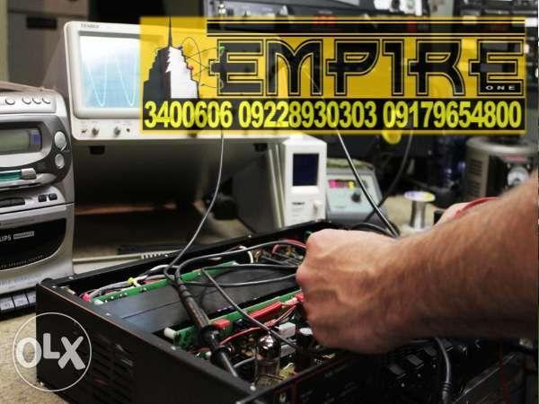 Amplifier Repair and Av Receiver Repair and Guitar Amplifier