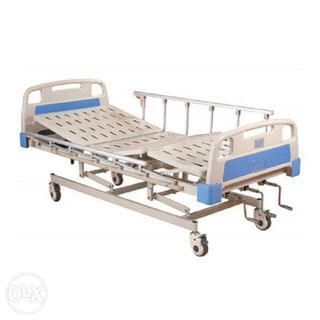 Hospital Bed 3 Cranks Manual Heavy Duty Metal Crank Levers