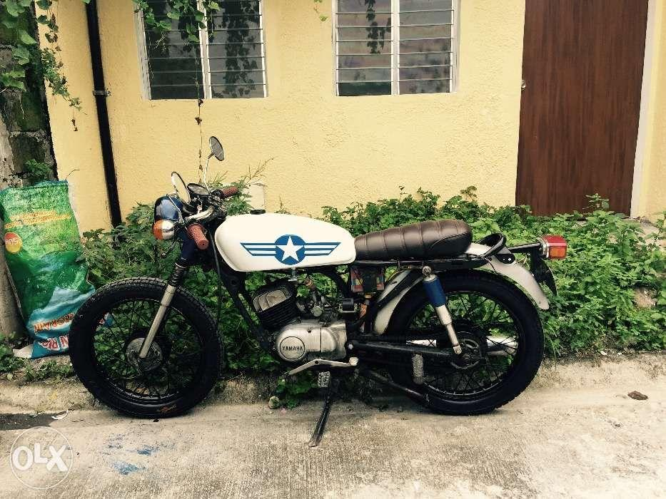 cafe racer yamaha rs 100 1999 model motorbikes motorbikes for sale on carousell. Black Bedroom Furniture Sets. Home Design Ideas