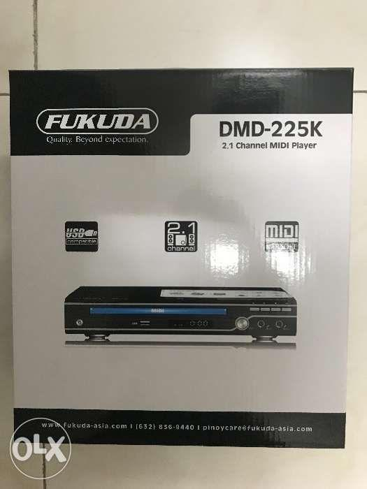 Brand New Fukuda DMD225K DVD Player MiDi Karaoke on Carousell
