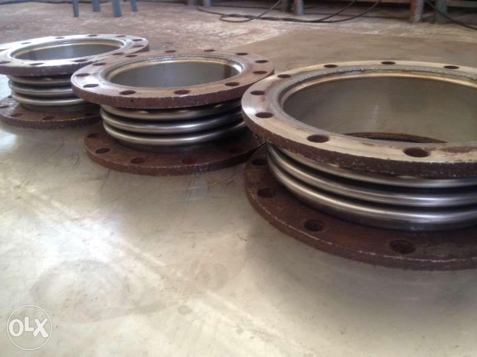 Expansion joint fabrication bellows parts machining CNC metal works