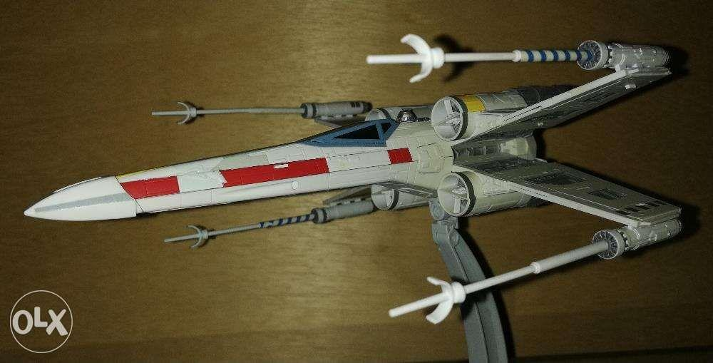 Bandai Star Wars XWing built and painted on Carousell